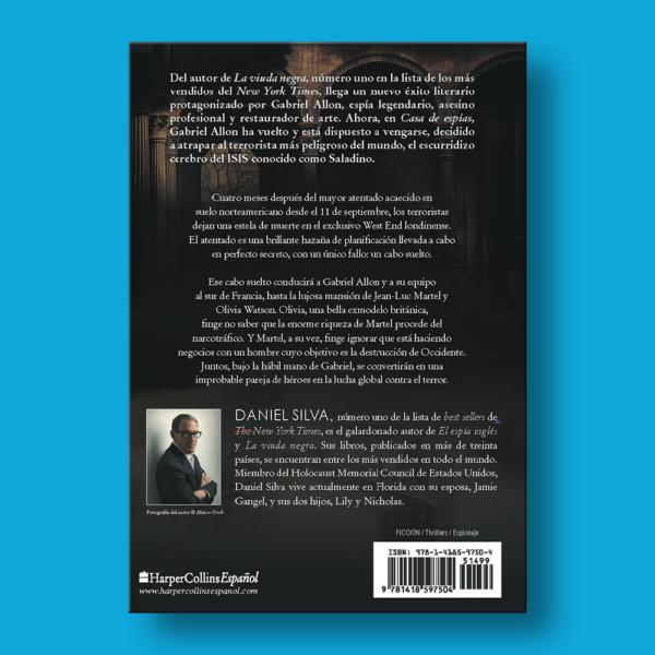 Casa de espías - Daniel Silva - Harper Collins