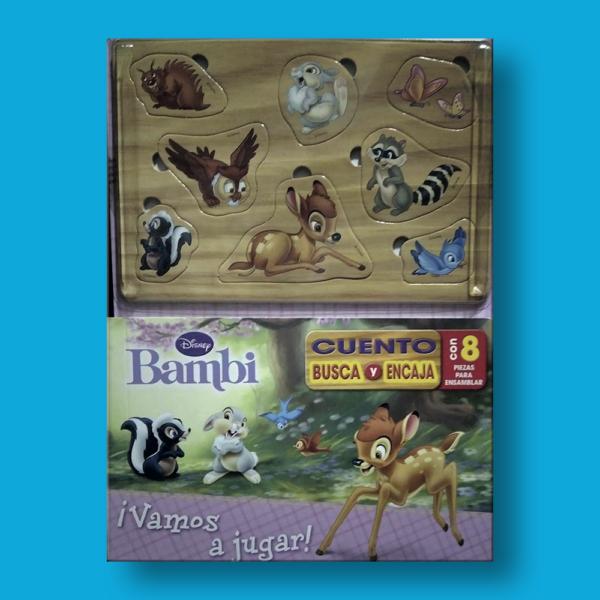 Bambi ¡vamos a jugar! - Varios Autores - Disney