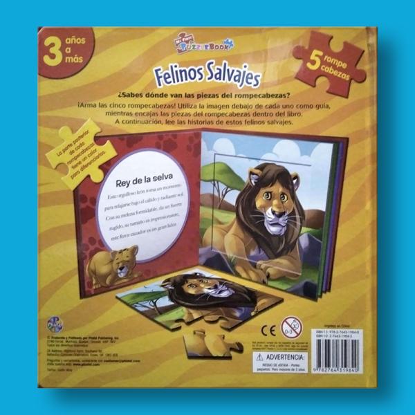 Felinos salvajes - Varios Autores - LEXUS Editores
