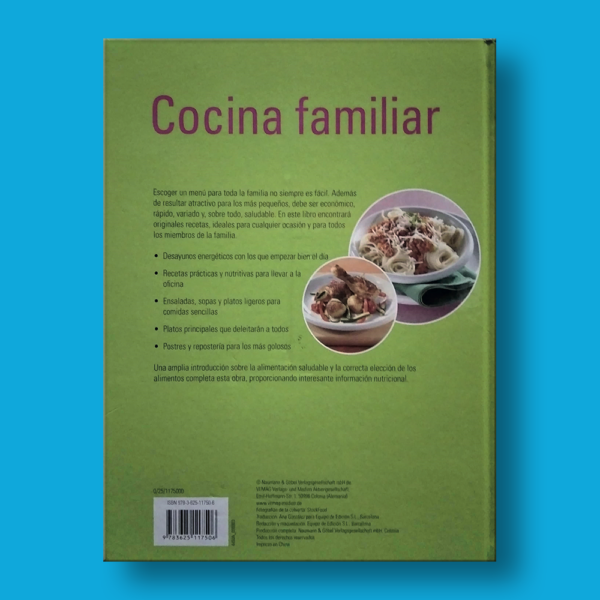 Cocina familiar: Saludable y equilibrada - Varios Autores - Naumann & Gobel Verlags