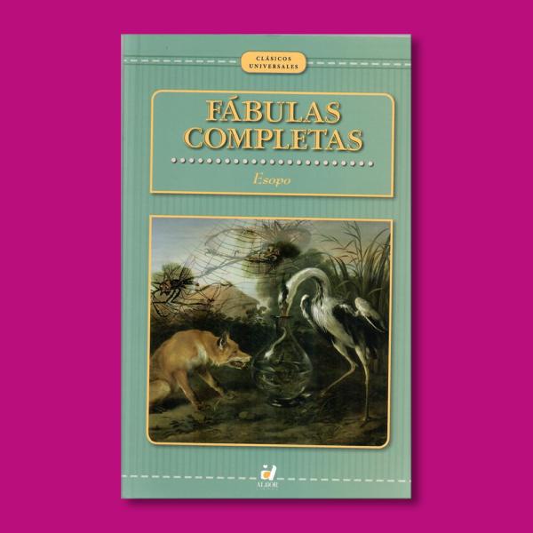 Fábulas completas - Esopo - Alba
