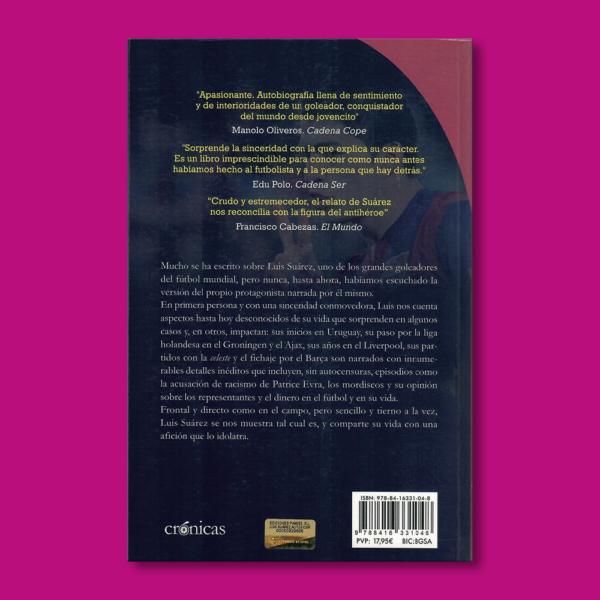 Cruzando la línea, Luis Suárez: Mi autobiografía. - Luis Suárez - Ediciones Pámies