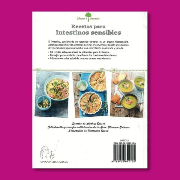 Recetas para intestinos sensibles - Audrey Cosson - Larousse