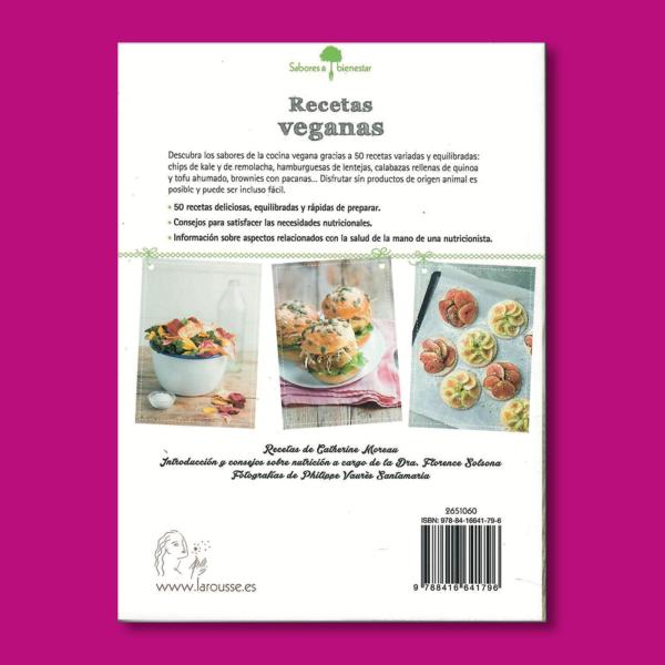Recetas veganas - Catherine Moreau - Larousse