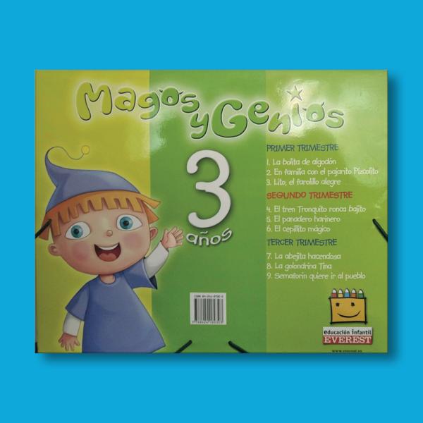 Magos y genios: 3 años (2 trimestre) - Domínguez Serrano Argeme & Lucio Martín María Ángeles - Everest
