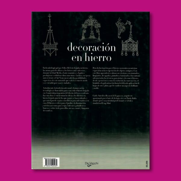 Decoración en hierro - Carlo Amedeo Reyneri di Lagnasco - Editorial De Vecchi
