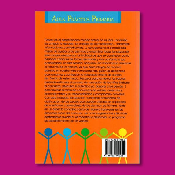 Recursos para fomentar los valores - Varios Autores - Ediciones Ceac