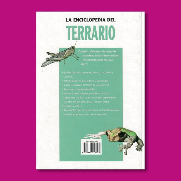 La enciclopedia del terrario - Eugéne Bruins - Editorial LIBSA