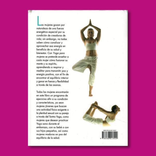 Yoga para mujeres - Estefanía Martínez - Ediciones LIBSA