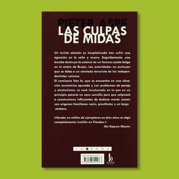 Las culpas de midas - Pieter Aspe - BSA