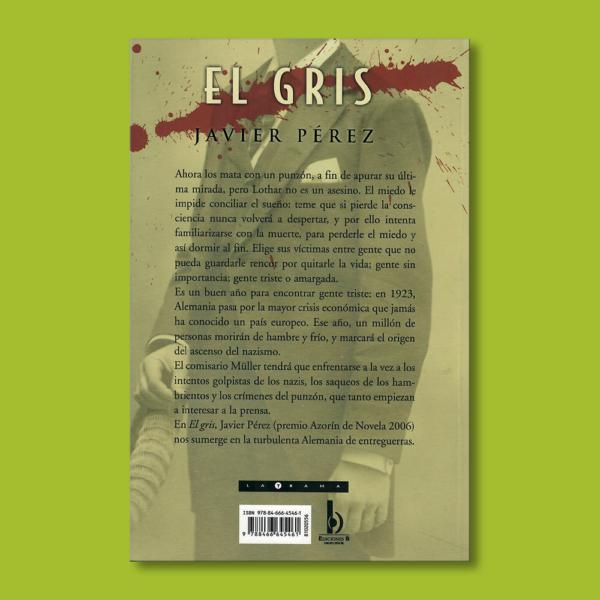 El gris - Javier Pérez - BSA