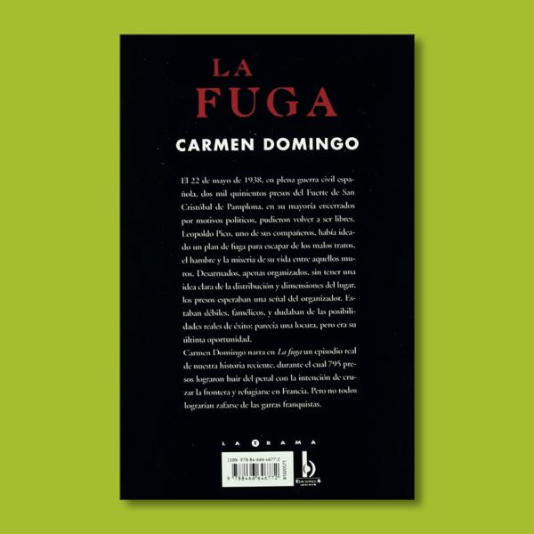 La fuga - Carmen Domingo - BSA