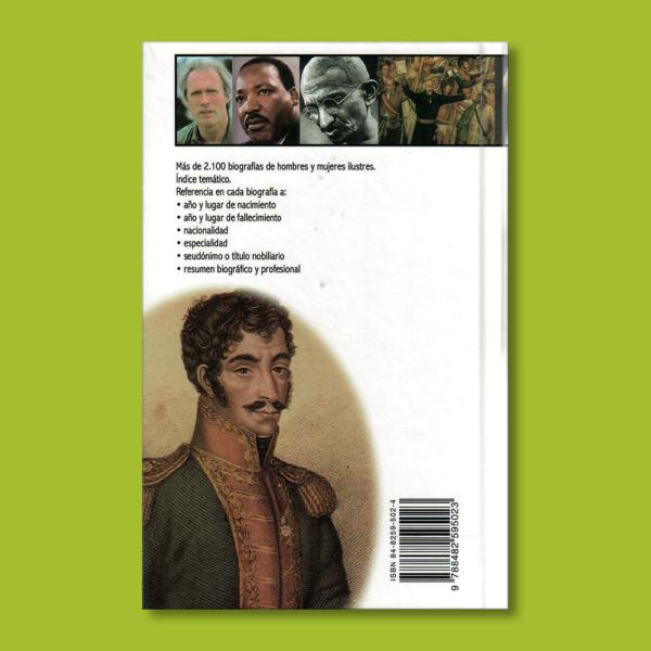 Enciclopedia de Grandes personajes - Varios Autores - Nauta