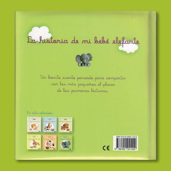 Los animales de mi bebé: La historia de mi bebé elefante - Varios Autores - Panini Books