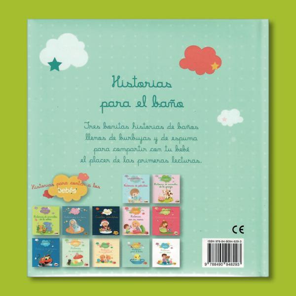 Historias para contar a los bebés: Historias para el baño - Varios Autores - Panini Books
