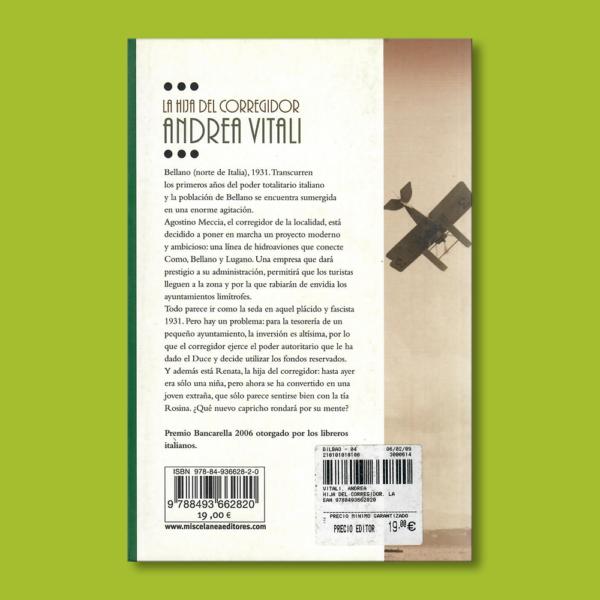 La hija del corregidor - Andrea Vitali - Roca Editorial