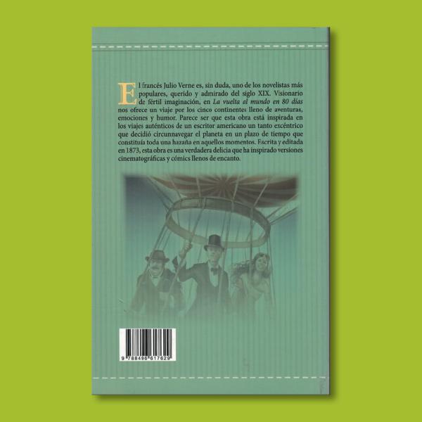 La vuelta al mundo en 80 días - Julio Verne - Total Books