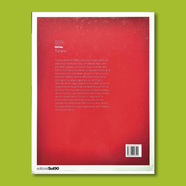 Grandes maestros de la pintura: Tiziano - Varios Autores - Editorial Sol90