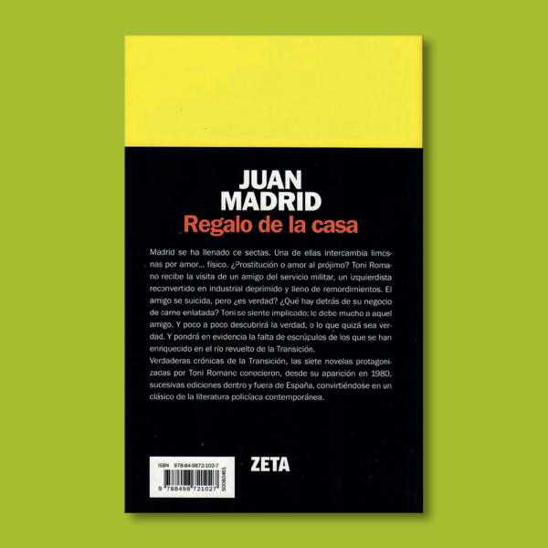 Regalo de la casa - Juan Madrid - BSA
