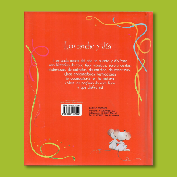 Lee cada noche 365 cuentos - Varios Autores - LEXUS Editores