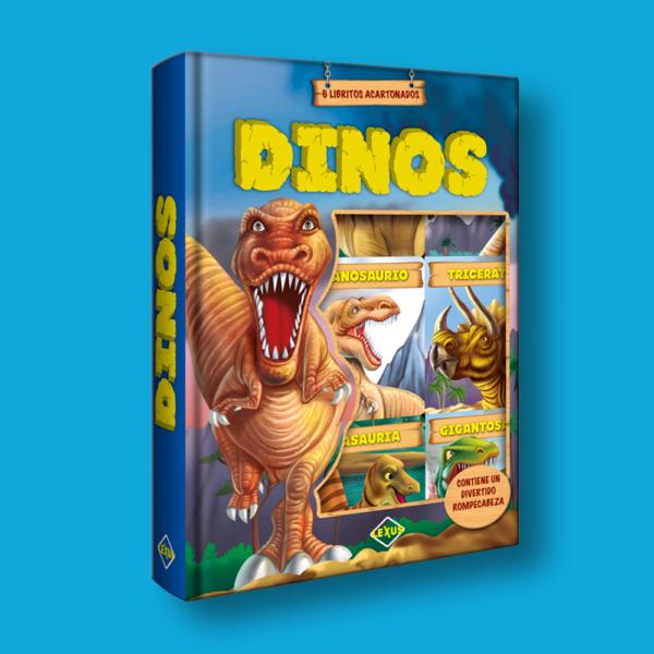 Dinos: 6 libritos acartonados - Varios Autores - LEXUS Editores