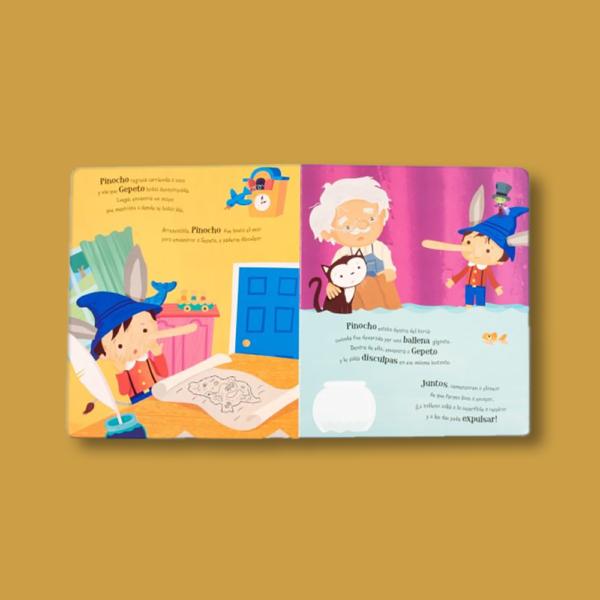 Cuentos rimados: Pinocho - Varios Autores - LEXUS Editores