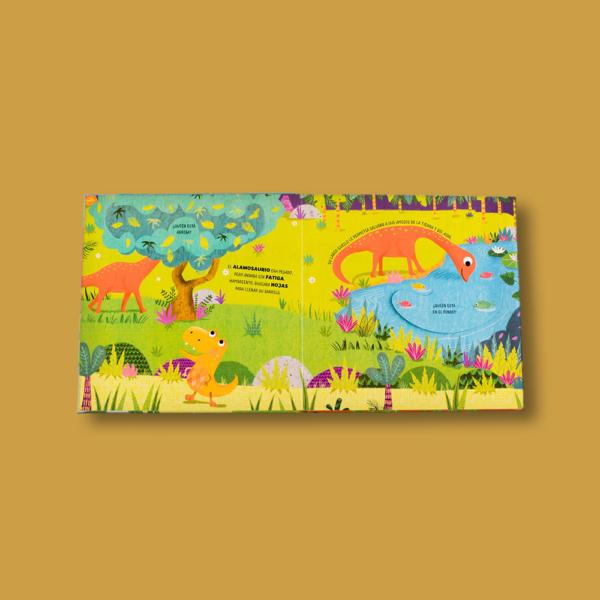 Dinosaurios: Pop-up para leer y jugar - Varios Autores - LEXUS Editores