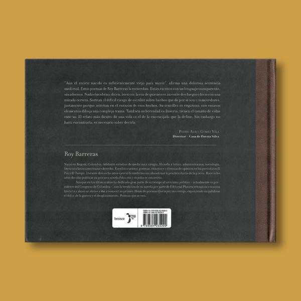 Que la paz sea contigo: Poemas que se van - Roy Barreras - Ediciones Bronce