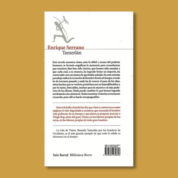 Tamerlán - Enrique Serrano - Editorial Planeta