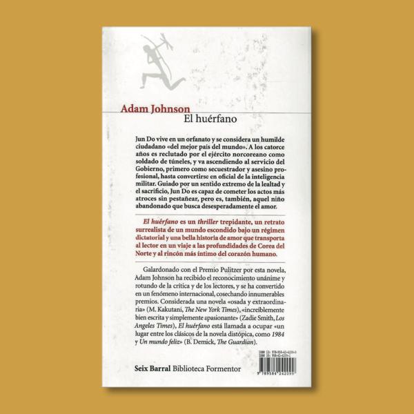 El huérfano - Adam Johnson - Seix Barral