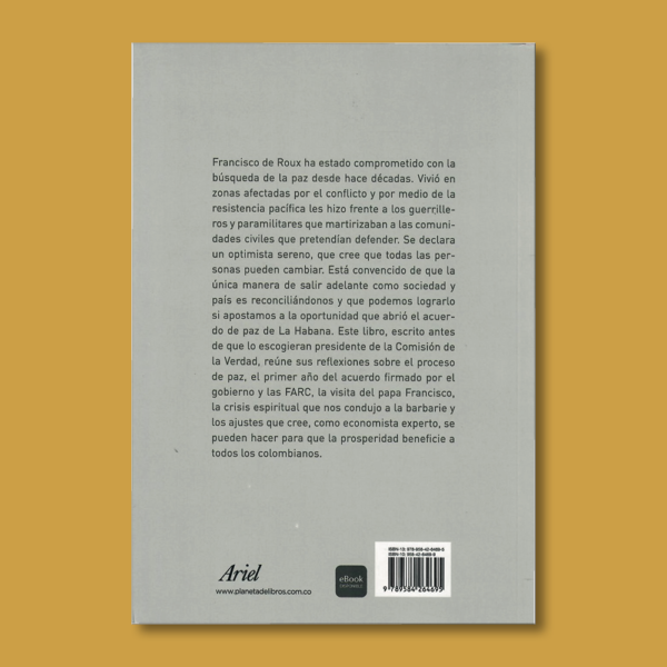 La audacia de la paz imperfecta - Francisco de Roux - Ariel