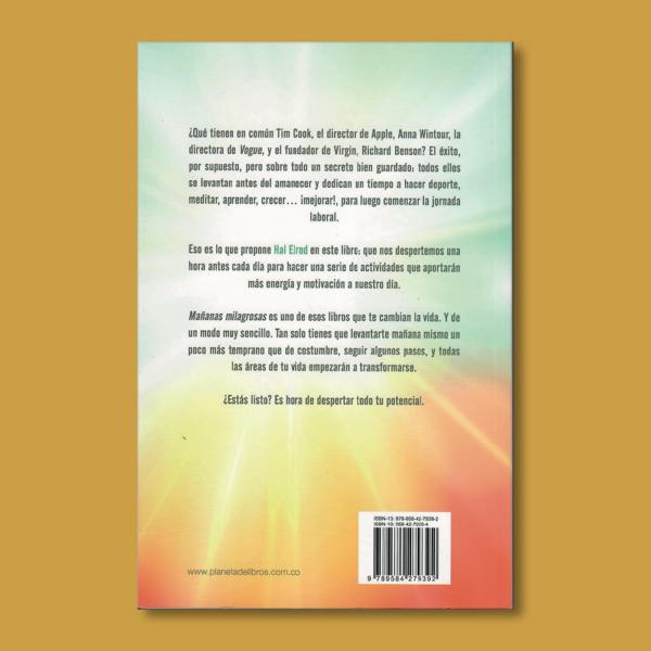 Mañanas milagrosas - Hal Elrod - Planeta