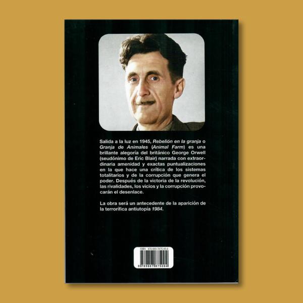 Rebelión en la granja - George Orwell - Unilibro Ediciones