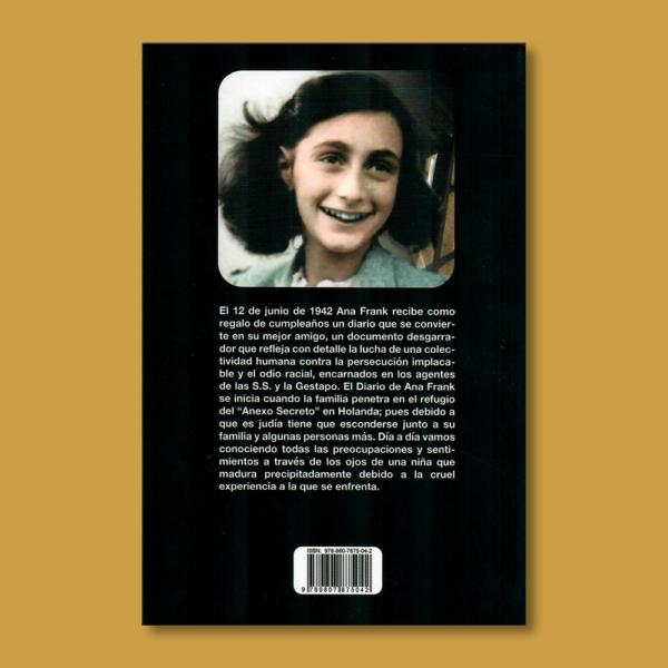 Diario de Ana Frank - Ana Frank - Unilibro Ediciones
