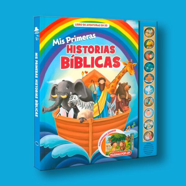 Mis primeras historias bíblicas: Con sonidos - Varios Autores - LEXUS Editores