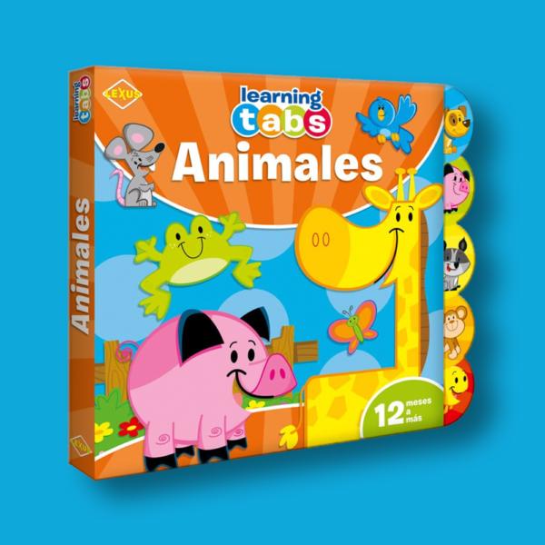Learning tabs: Animales - Varios Autores - LEXUS Editores