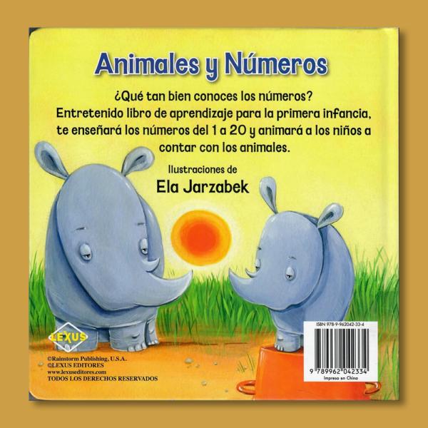 Animales y números - Varios Autores - LEXUS Editores