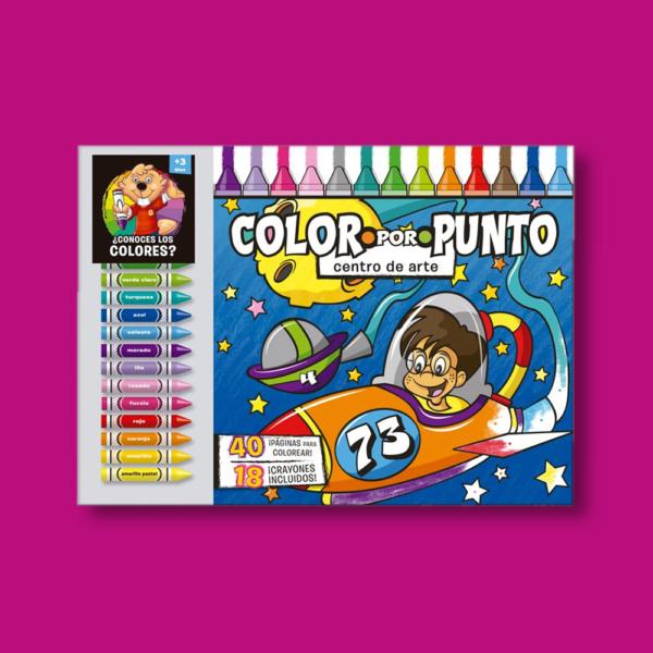 Color por punto: Contiene crayones - Varios Autores - LEXUS Editores