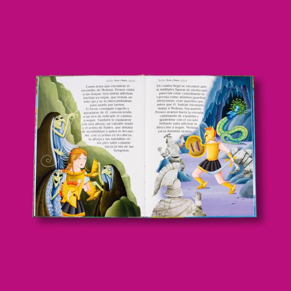 Las más bellas historias mitológicas - Varios Autores - LEXUS Editores