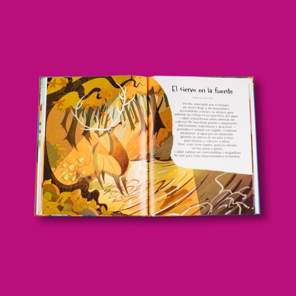 Las mas bellas fábulas de la Fontaine - Stefania Leonardi Hartley - LEXUS Editores