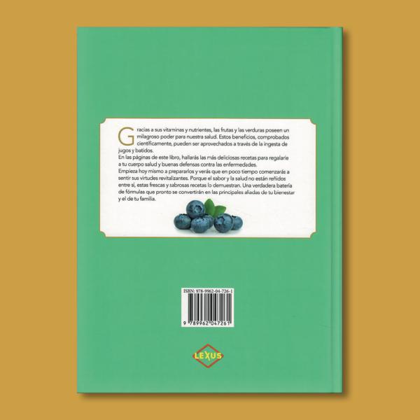 Jugoterapia: Bebidas revitalizantes - Varios Autores - LEXUS Editores